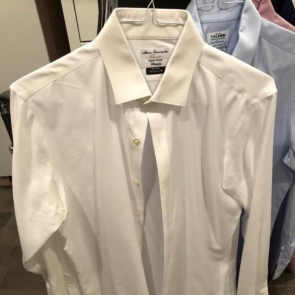0b8fc0b7 TM Lewin Shirts | Super Fitted Dress Shirt | Poshmark